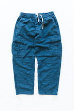 Load image into Gallery viewer, GORECKI CARGO PANT - DUSTY BLUE OVERSIZED JACQUARD