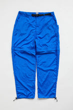 Load image into Gallery viewer, TREK ZIP OFF CLIMBING PANT - ROYAL TRILOBAL NYLON