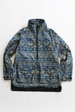 Load image into Gallery viewer, ARKAIR X 18 EAST MAMMOTH PARKA - INDIGO ARJAKH PRINTED WATER REPELLENT COTTON