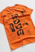 Load image into Gallery viewer, ALLCAPSTUDIO LUMUMBA T-SHIRT - ORANGE