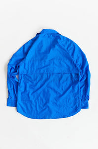 GHIBAIL FISHING SHIRT - ROYAL TRILOBAL NYLON