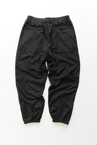 NAM WARM UP PANT - BLACK TRILOBAL NYLON