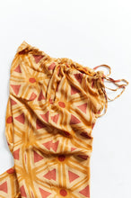 Load image into Gallery viewer, JULIAN PJ PANT - CITRUS BLOCK PRINTED CUPRO