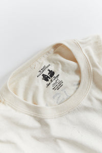 ALLCAPSTUDIO X 18 EAST SILENCE IS VIOLENCE TEE - UNDYED COTTON