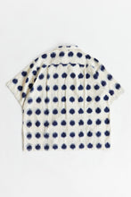 Load image into Gallery viewer, SS PIONTA SHIRT - ECRU / INDIGO IKAT