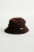 Load image into Gallery viewer, PAPIK BUCKET HAT - CHOCOLATE CORDUROY