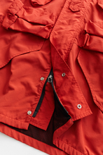 Load image into Gallery viewer, IASCAIRE FISHING PARKA - RED RECYCLED NYLON TASLAN