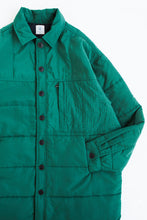 Load image into Gallery viewer, KEATING QUILTED SHIRT JACKET - ZUCCHINI GREEN