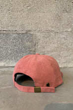 Load image into Gallery viewer, STUDIO CORDUROY BALLCAP - MELON