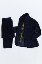 Load image into Gallery viewer, OSMAN JACKET - NAVY CABLED CORDUROY