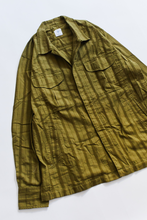 Load image into Gallery viewer, CIVILIAN OVERSHIRT - O.D. GREEN GIRO INGLESE