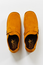 Load image into Gallery viewer, PADMORE & BARNES SINGLE PIECE MONK STRAP - SUNFLOWER SUEDE