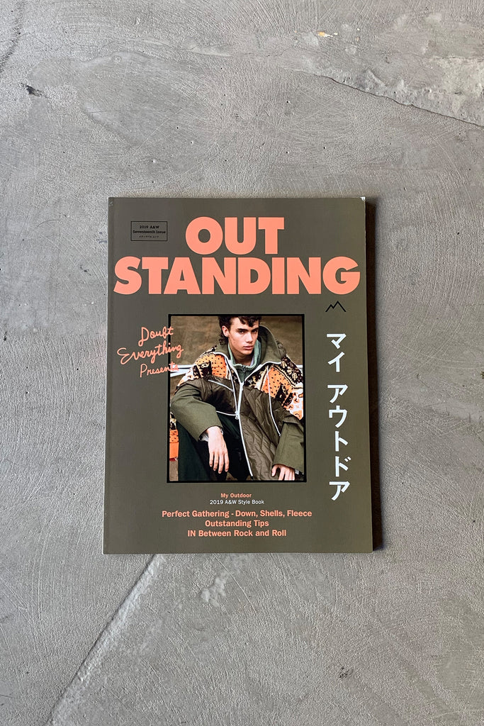 OUTSTANDING MAGAZINE - 2019 A/W ISSUE