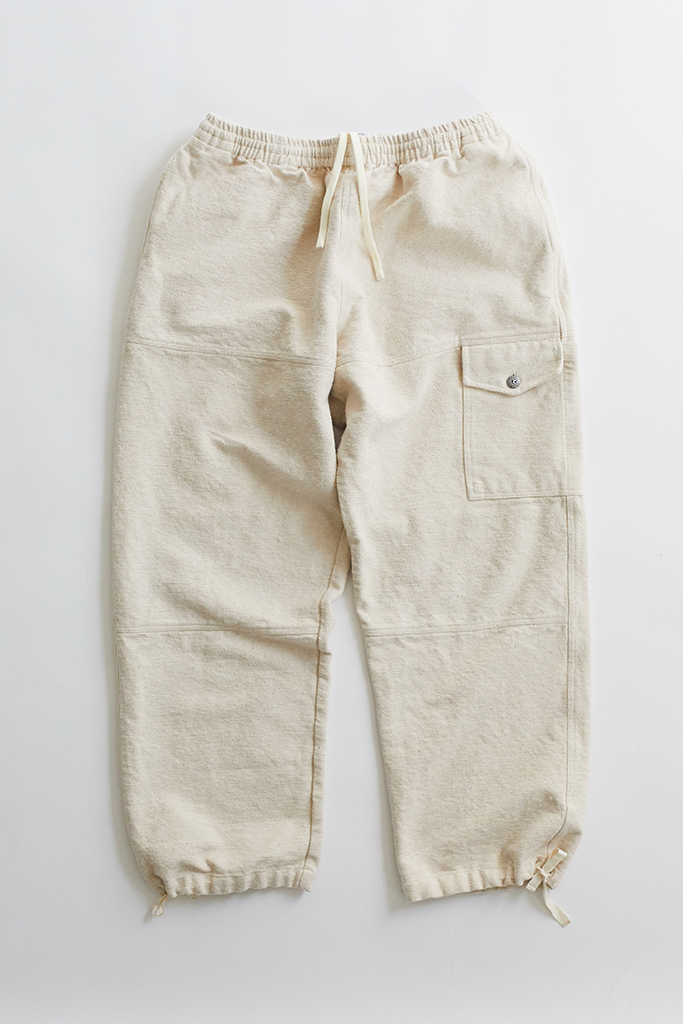 CLÚDACH FISHING WADER PANT - UNDYED KHADI COTTON