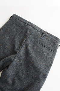 ÉIDE TROUSER - GRAY MOLLOY & SONS DONEGAL PLAINWEAVE TWEED