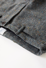 Load image into Gallery viewer, ÉIDE TROUSER - GRAY MOLLOY & SONS DONEGAL PLAINWEAVE TWEED