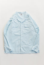 Load image into Gallery viewer, PIONTA CAMP SHIRT - PALE SKY COTTON RIPSTOP