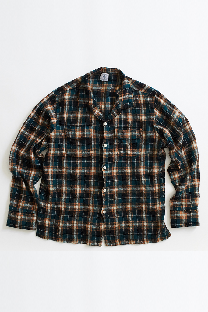 PIONTA CAMP SHIRT—WOOL GAUZE