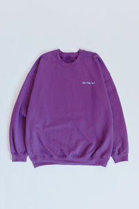 FUTURE CREWNECK SWEATSHIRT - PLUM