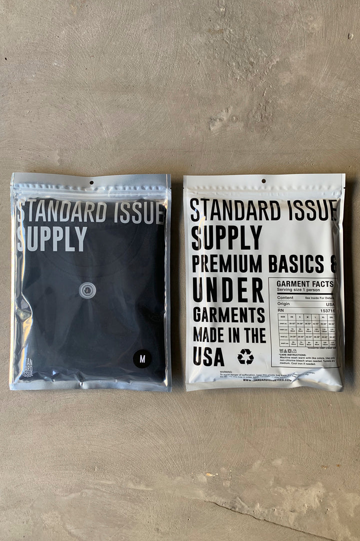 STANDARD ISSUE STANDARD TEE - BLACK