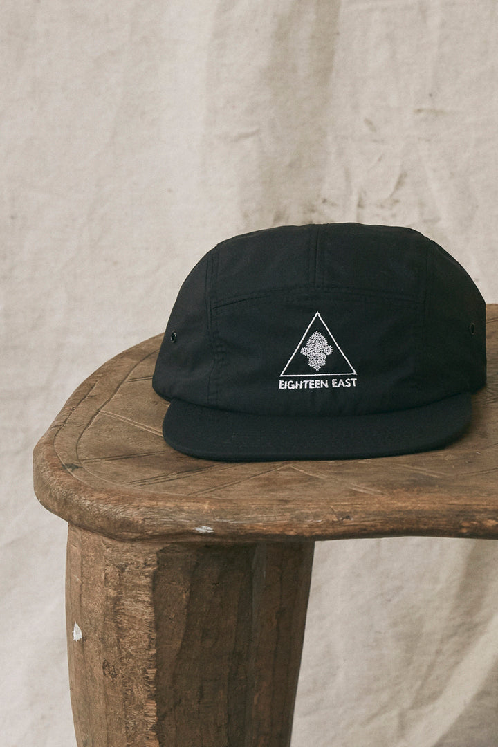 SUMMIT CAMP HAT - BLACK NYLON