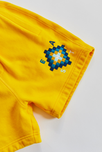 Load image into Gallery viewer, BRAHIM SWEATSHORT - SUNSHINE YELLOW PIMA FLEECE