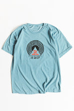 Load image into Gallery viewer, BAGRU MOUNTAIN TEE - SLATE BLUE