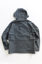 Load image into Gallery viewer, IASCAIRE FISHING PARKA - GRAY MOLLOY & SONS DONEGAL PLAINWEAVE TWEED