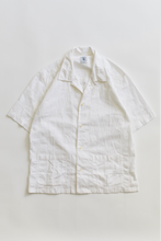 Load image into Gallery viewer, YOUSEF CAMP SHIRT - WHITE GIRO INGLESE