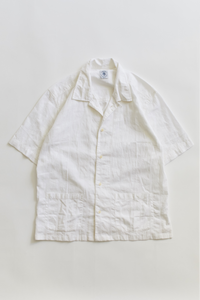 YOUSEF CAMP SHIRT - WHITE GIRO INGLESE
