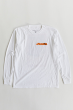 Load image into Gallery viewer, 18 EAST X LEON WASHERE CURRACH L/S TEE - WHITE