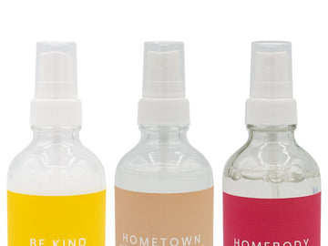 scented aroma linen room sprays and air fresheners