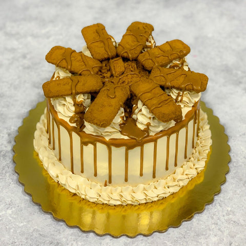 The Ultimate Vegan Lotus Biscoff Cake