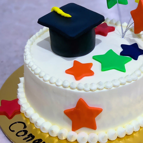 Vegan Graduation Cake