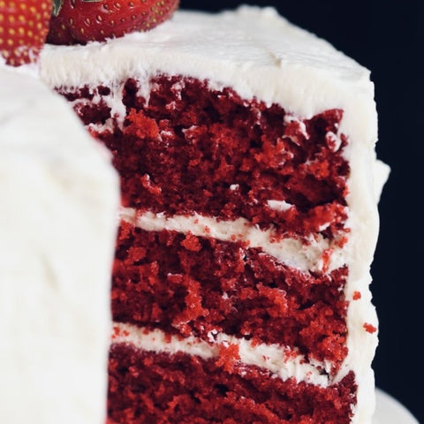 Vegan Red Velvet Cake (8-10 ppl)