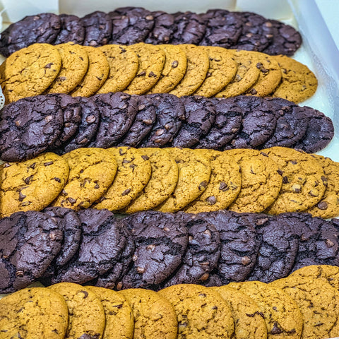 Vegan Mixed Cookies Box (60 pcs)