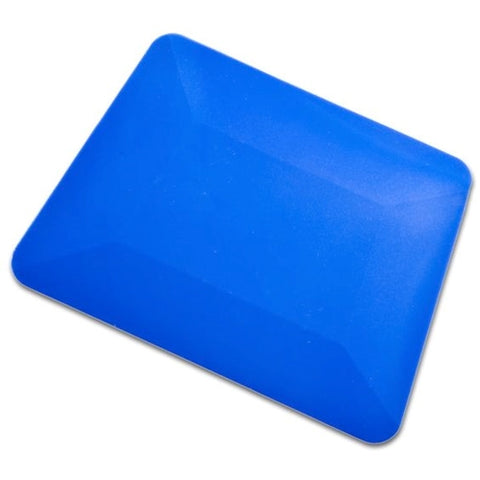 "4"" BLUE TEFLON HARD CARD SQUEEGEE"
