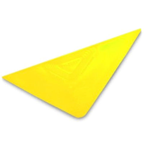 YELLOW TRI-EDGE HARD CARD