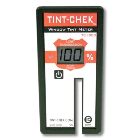 EDTM TINT-CHEK TC1800 AUTOMOTIVE METER