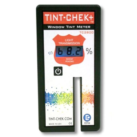 EDTM TINT-CHEK + TC2800 AUTOMOTIVE METER
