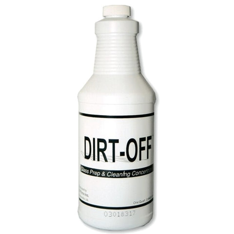 DIRT-OFF WINDOW FILM SOLUTION