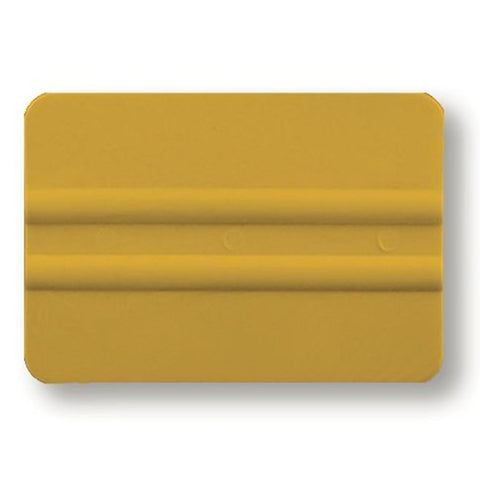 "4"" YELLOW LIDCO BONDO CARD"