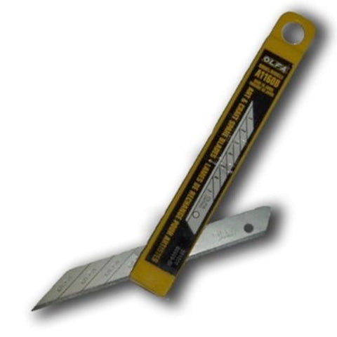 30-DEGREE OLFA CARBON SNAP-OFF ART BLADE - A1160B