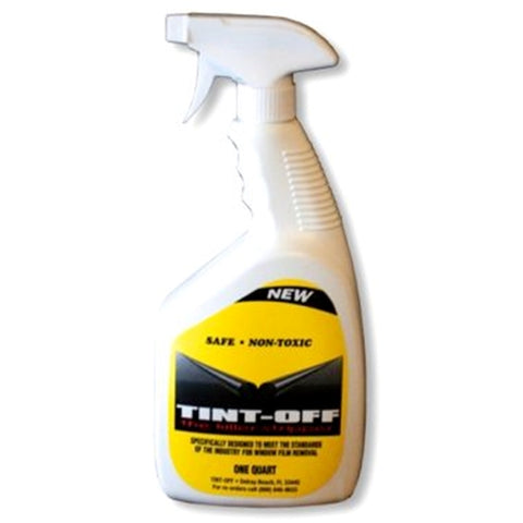 1 QT. TINT-OFF WINDOW TINT REMOVAL SOLUTION