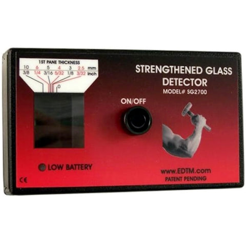 EDTM SG2700 STENGTHENED GLASS DETECTOR