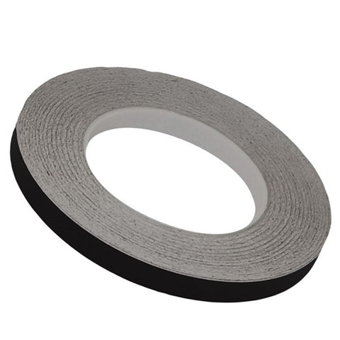 "1/2"" MATTE BLACK OUT TAPE (150 FT ROLL)"