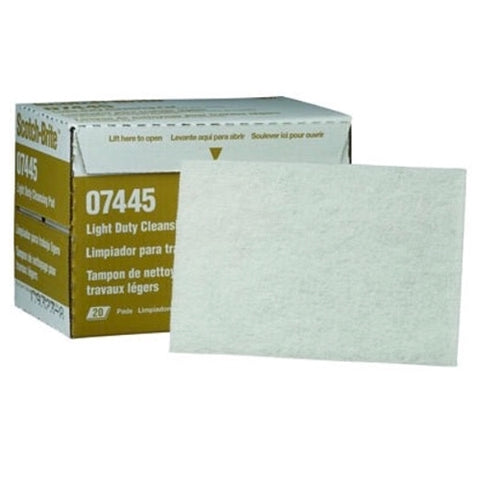3M SCOTCH-BRITE PAD 07445 (20 PACK)