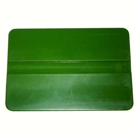 "4"" GREEN SOFT FLEX SQUEEGEE"