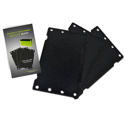 SMOOTH-IT BLACK MAT REPLACEMENT (3 PK.)