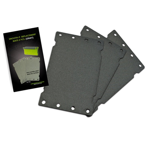 SMOOTH-IT GREY MAT REPLACEMENT (3 PK.)
